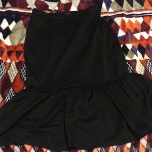 ASOS Pencil Skirt with Ruffle
